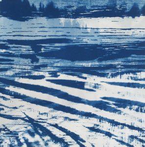 jose-op-ten-berg-ondergelopen-land-cyanotype-285-x-285-cm-2016